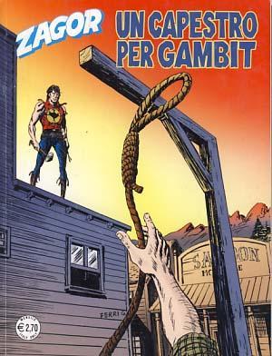 Zagor #579 - Un capestro per Gambit: Burattini, Moreno