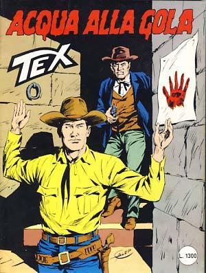 Tex #309 - Acqua alla gola: Bonelli, Gianluigi