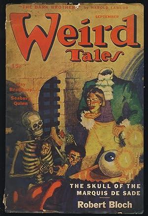 Skeleton in Weird Tales September 1945: Bradbury, Ray