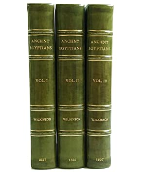 Manners and Customs of the Ancient Egyptians,: Wilkinson, John Gardner