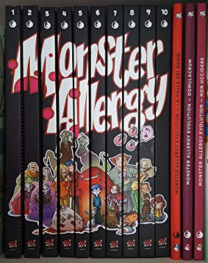 Monster Allergy Eight Volume Set. (Monster Allergy Collection Variant Edition #1 to 6 + Monster A...
