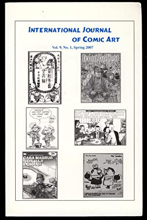 International Journal of Comic Art Spring 2007: Lent, John A.,
