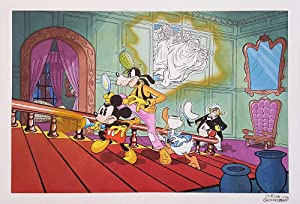 Angelo La Rosa Mickey Mouse in The Seven Ghosts Original Art Recreation