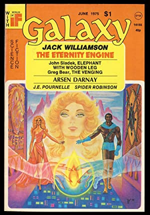 The Eternity Engine in Galaxy June 1975. (Signed Copy)