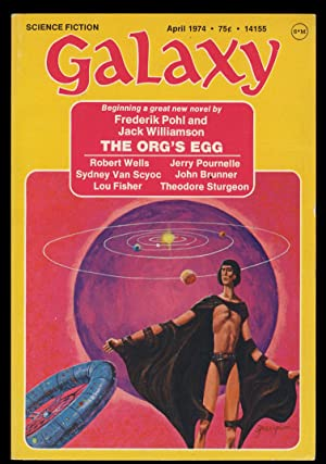 The Org's Egg in Galaxy April-June 1974. (Signed Copies)