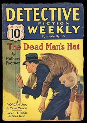 The Dead Man's Hat in Detective Fiction Weekly July 2, 1932