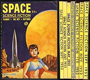 Space Science Fiction Full Run 1952-1953