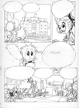 PP8 Paperino Paperotto (Donald Duckling) Original Art by Vitale Mangiatordi - Issue 8, Page 22