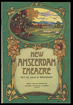 Program for the New Amsterdam Theatre, New York, for the Week Beginning on September 16, 1929. Fe...