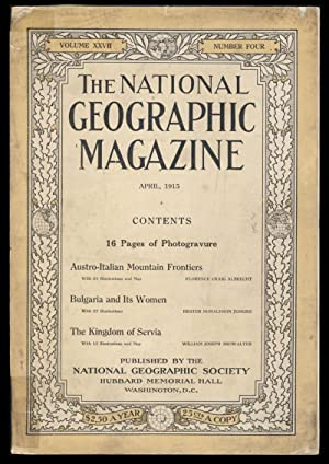 The National Geographic Magazine April, 1915
