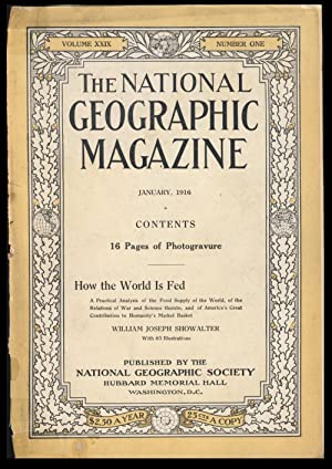 The National Geographic Magazine January, 1916