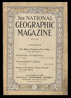 The National Geographic Magazine July, 1915