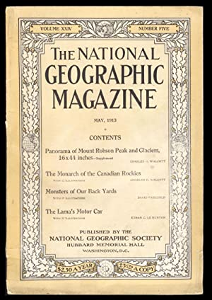 The National Geographic Magazine May, 1913