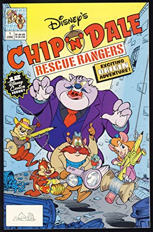 Chip 'n' Dale Rescue Rangers Complete Nineteen Issue Series