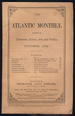 International Copyright in The Atlantic Monthly October 1867