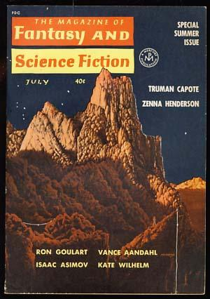 The Magazine of Fantasy and Science Fiction July 1962: Ferman, Edward L., ed