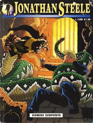 Jonathan Steele #17 - Uomini serpente: Memola, Federico; Sedioli,