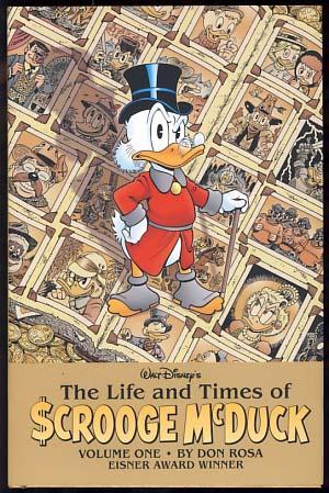 The Life and Times of Scrooge McDuck Volume One and Volume Two. (Signed and with Drawings by the ...