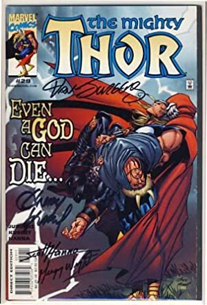 Thor Vol. 2 #29 - Even a God Can Die.