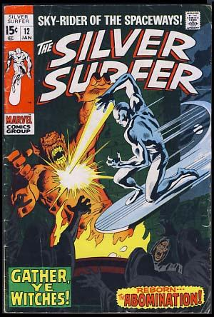 The Silver Surfer No. 12