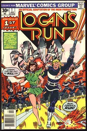 Logan's Run #1: Conway, Gerry; Perez,
