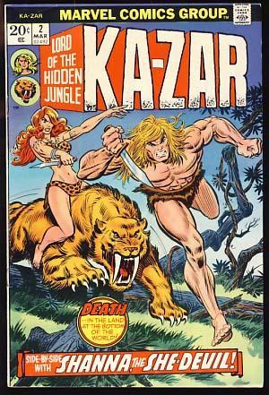 Ka-Zar #2: Friedrich, Mike; Heck,