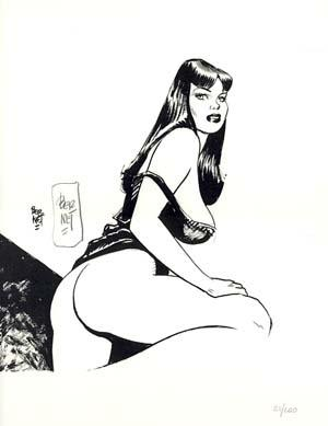 Pin-Up #9 from the Portfolio Chiara, Chica e le altre - Signed and Numbered Limited Edition Print