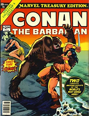 Marvel Treasury Edition #19: Conan the Barbarian