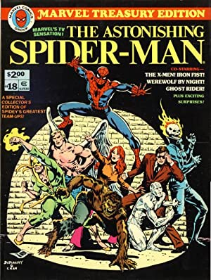 Marvel Treasury Edition #18: The Astonishing Spider-Man