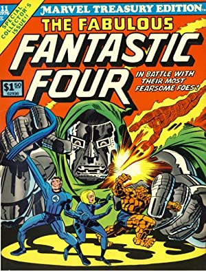 Marvel Treasury Edition #11: The Fabulous Fantastic: Lee, Stan; Kirby,