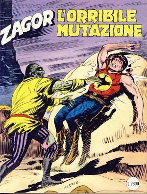 Zagor #363 - L'orribile mutazione: Burattini, Moreno