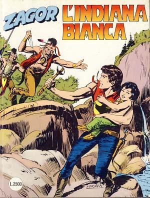 Zagor #392 - L'indiana bianca: Burattini, Moreno