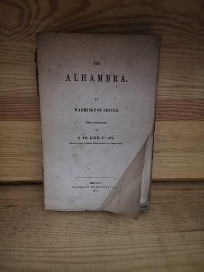 The Alhambra: Irving, Washington and