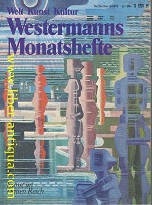 Westermanns Monatshefte Heft 9 (September 1978) -