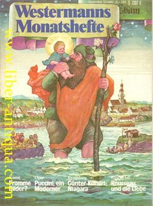Westermanns Monatshefte Heft 12 (Dezember 1980) -