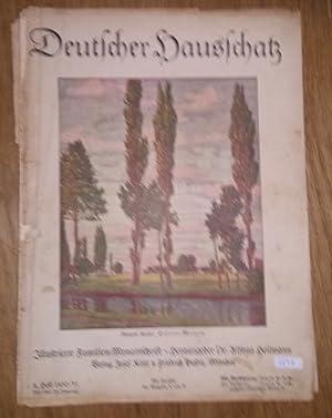 Deutscher Hausschatz. 8.Heft 1930/31. Sonntag ist's.: Heilmann, Alfons Dr.
