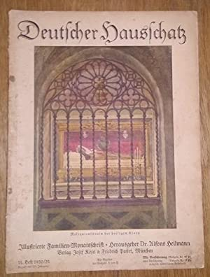 Deutscher Hausschatz. 11.Heft 1930/31. Sonntag ist's.: Heilmann, Alfons Dr.