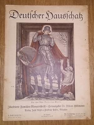 Deutscher Hausschatz. 5.Heft 1932/33. Sonntag ist's.: Heilmann, Alfons Dr.