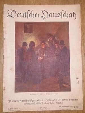 Deutscher Hausschatz. 4.Heft 1930/31. Sonntag ist's.: Heilmann, Alfons Dr.
