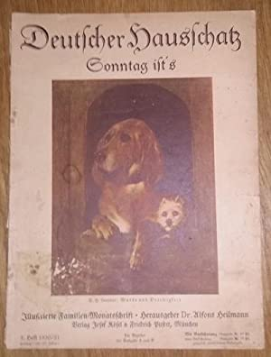 Deutscher Hausschatz. 5.Heft 1930/31. Sonntag ist's.: Heilmann, Alfons Dr.