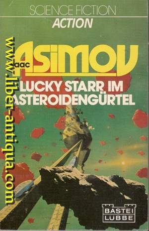 Lucky Starr im Astroidengürtel - Science Fiction Roman