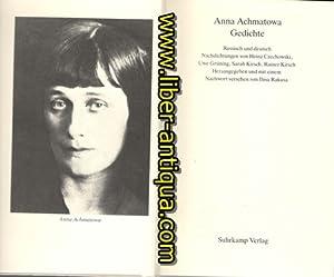 Achmatowa Gedichte Russisch Und Zvab