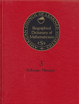 A Biological Dictionary for Mathematicians (Biographical Dictionary of Mathematicians)