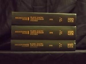 Bibliographic Guide to Slavic, Baltic, and Eurasian Studies, 1998: NYPL