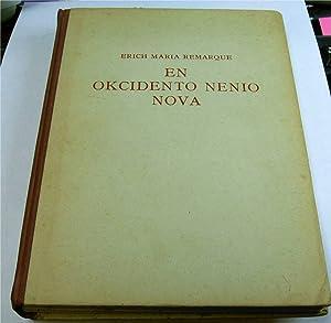En Okcidento Nenio Nova: Remarque, Erich Maria