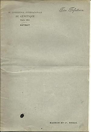 Mendelisme et Acclimatation: Nilsson-Ehle, H.