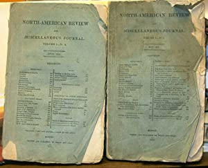 North American Review and Miscellaneous Journal Vol 1 nos 1 & 2