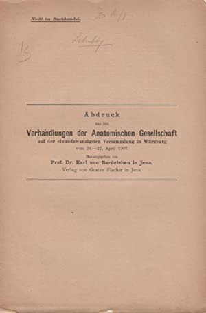 Ueber Zellverbindungen: Schuberg, August
