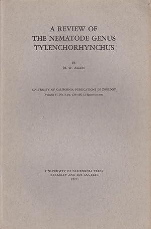A Review of the Nematode Genus Tylenchorhynchus: Allen, M.W.