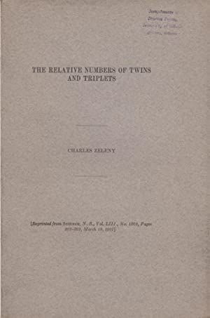The Relative Numbers of Twins and Triplets: Zeleny, Charles
